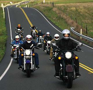 bikers road